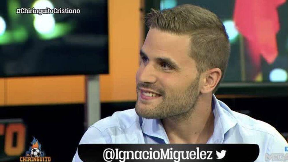 Foto: Ignacio Miguélez, nueva incorporación de 'El chiringuito'.