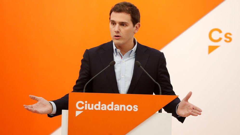 Foto: El líder de Ciudadanos Albert Rivera. (EFE)