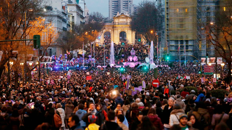 Delegación del Gobierno de Madrid recibe 60 peticiones feministas para el 8-M