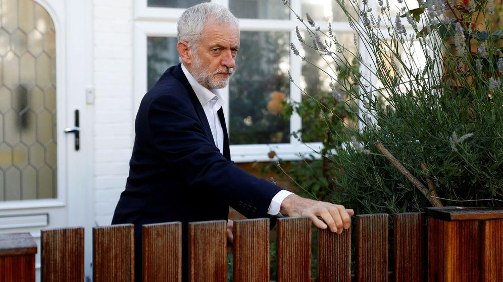 Foto: El líder izquierdista, Jeremy Corbyn. (Reuters)