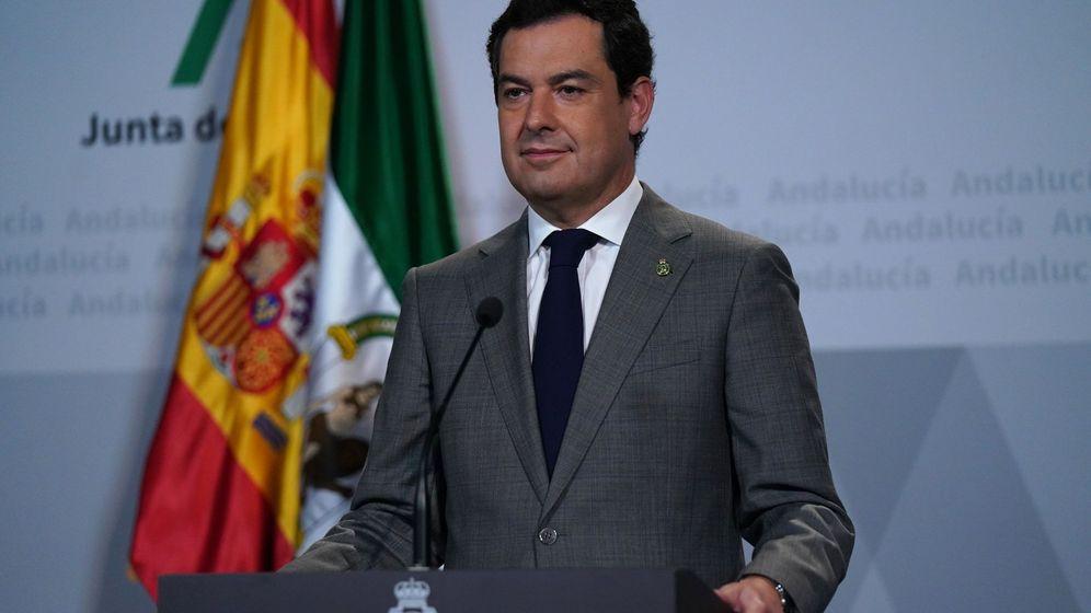 Foto: Presidente de la junta de andalucía, juanma moreno.