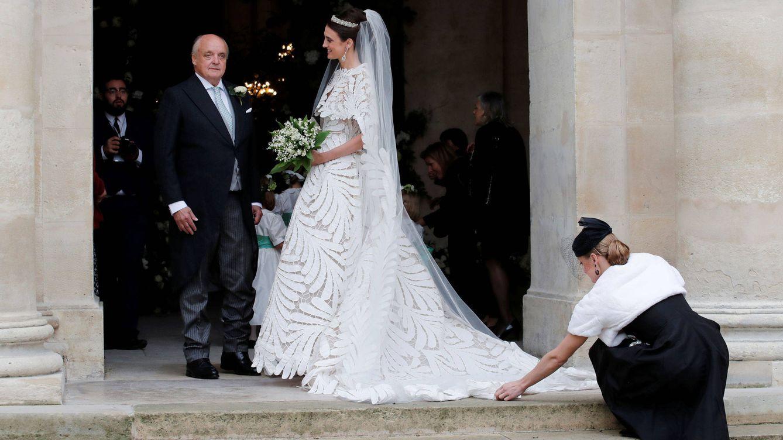París, Oscar de la Renta y el mejor vestido de novia: así ha sido la boda del último Napoléon