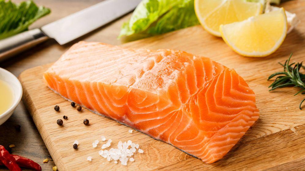 Foto: El salmón, uno de los mejores alimentos para perder la grasa acumulada en el vientre