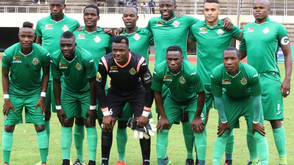 Foto: Selección de Zimbabue. (Imago)