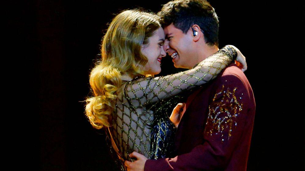 Foto: Amaia y Alfred en Eurovisión. (Reuters)