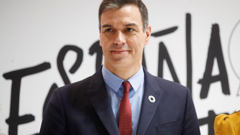Foto: El presidente del Gobierno Pedro Sánchez en su visita a Fitur. (EFE)