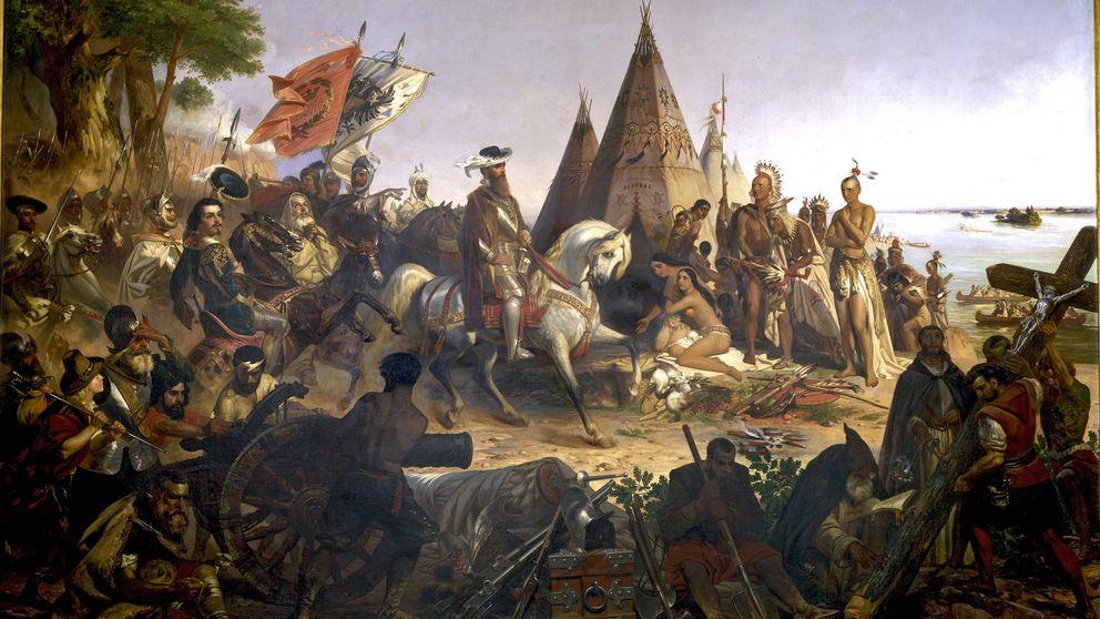 Hernando de Soto, la odisea de un hombre con un escudo y una espada