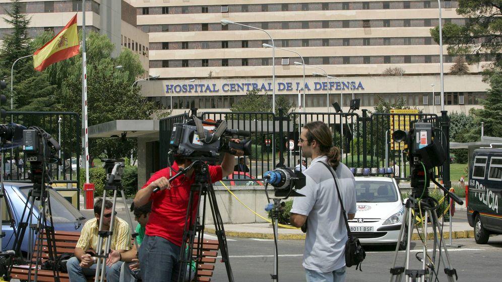 Foto: Hospital Militar de la Defensa Gómez Ulla. (EFE)