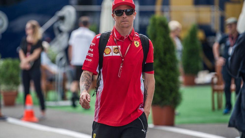 Foto: La continuidad de Raikkonen en Ferrari más cerca que nunca. (EFE)