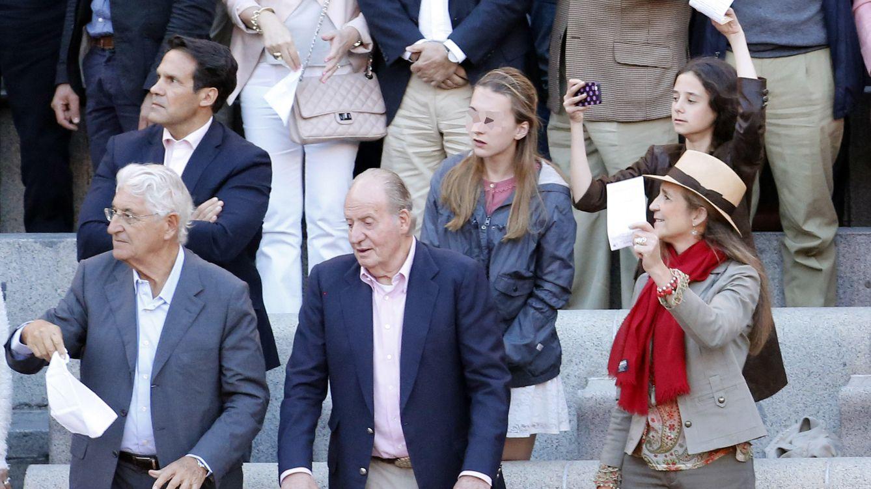 Foto: Famosos en la Feria de San Isidro de Madrid
