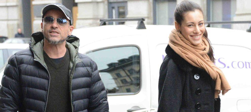 Foto: Eros Ramazzotti y Marica el pasado mes de enero (Gtres)