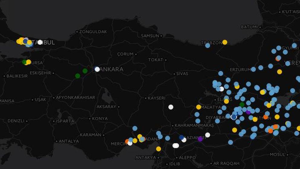 La oleada de atentados que ha desestabilizado Turquía