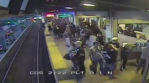Salvado por los pelos en el metro de San Francisco