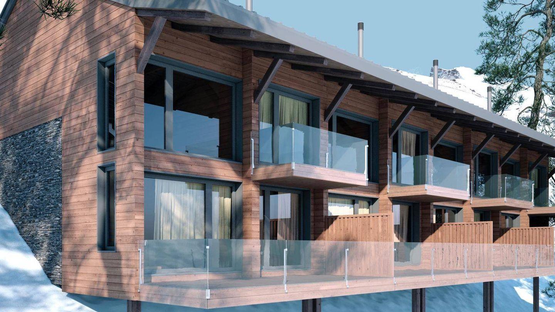 Vista virtual de las casas de lujo. (Arttysur)