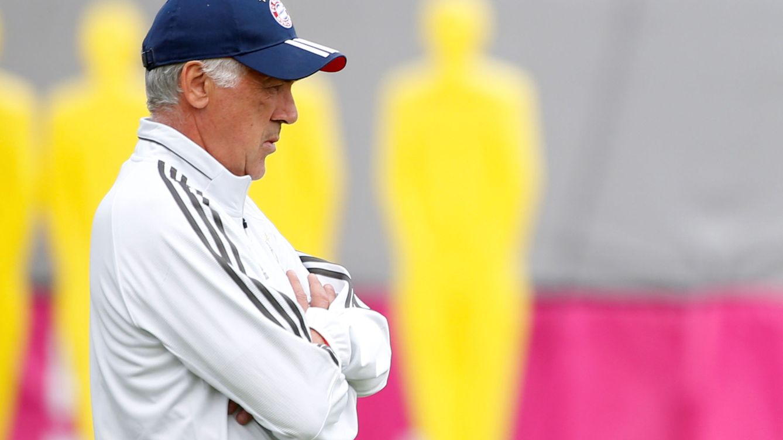 La dura vida de Ancelotti en el Bayern