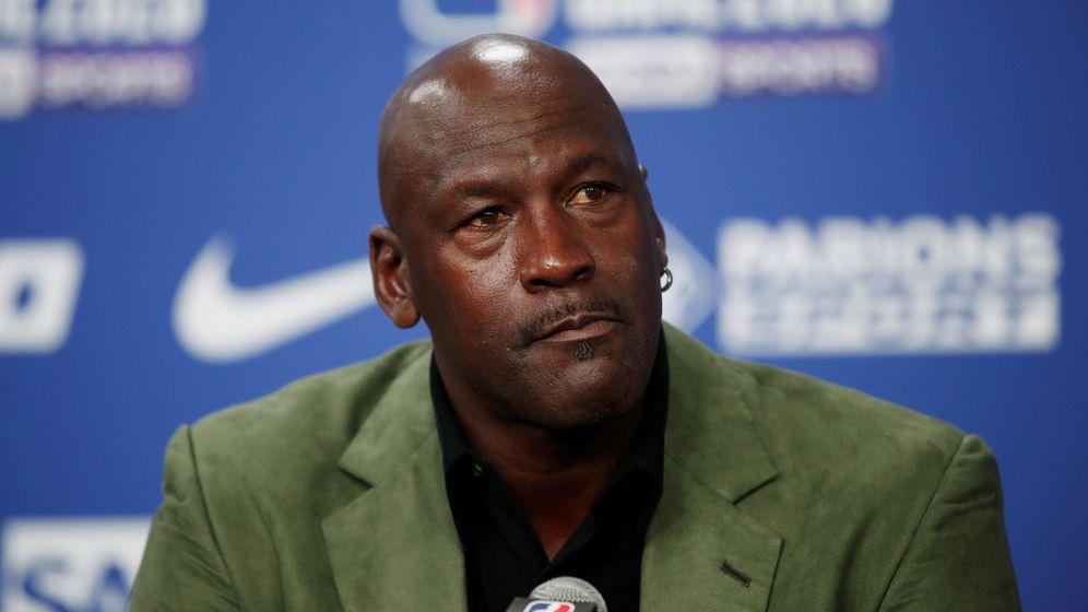 Foto: Michael Jordan, en una imagen de archivo. (Reuters)