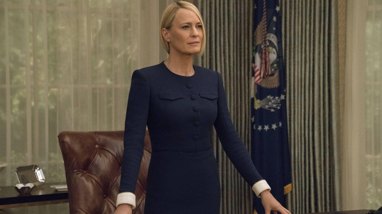 'House of Cards' | Claire Underwood, sola, viuda y presidenta: Ahora mando yo