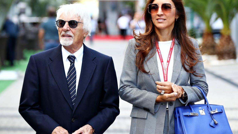 Bernie y su mujer Fabiana. (Getty)