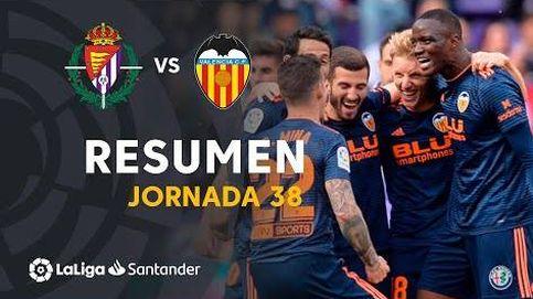 Así fueron los goles 'tontos' del sospechoso Valladolid 0-2 Valencia