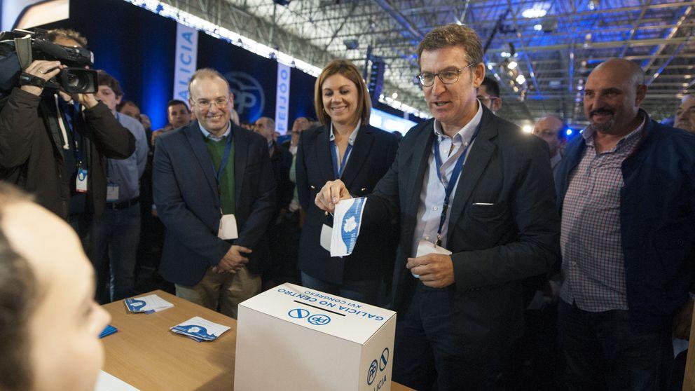 Cospedal opina que, en Galicia, la oposición no da ninguna confianza