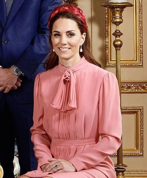 Foto: Kate Middleton en el bautizo de Archie. (IG)