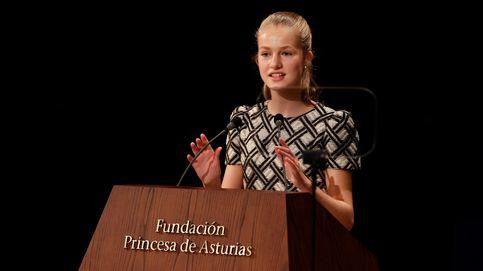 El discurso de Leonor en los Premios Princesa de Asturias: Me alegra mucho volver a Oviedo