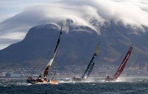 El Mapfre lidera una flota amenazada por una tormenta