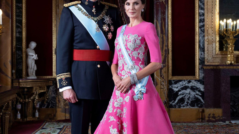 El rey Felipe VI y la reina Letizia. (EFE)