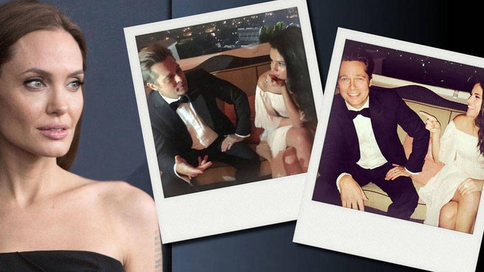Selena Gomez desencadenó un capítulo de celos de Angelina Jolie con Brad Pitt