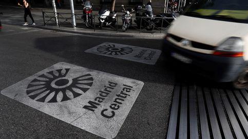 Multas de miles de euros a 5.300 usuarios de las APR por no constar en Madrid Central