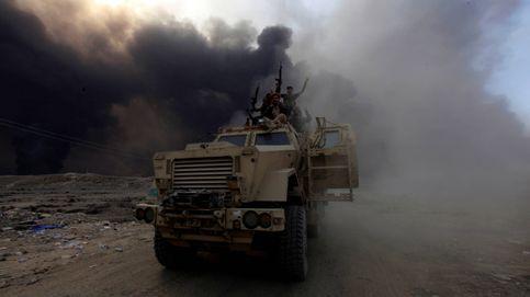 Humo en los cielos de Al Qayara: el futuro de Mosul se decide aquí