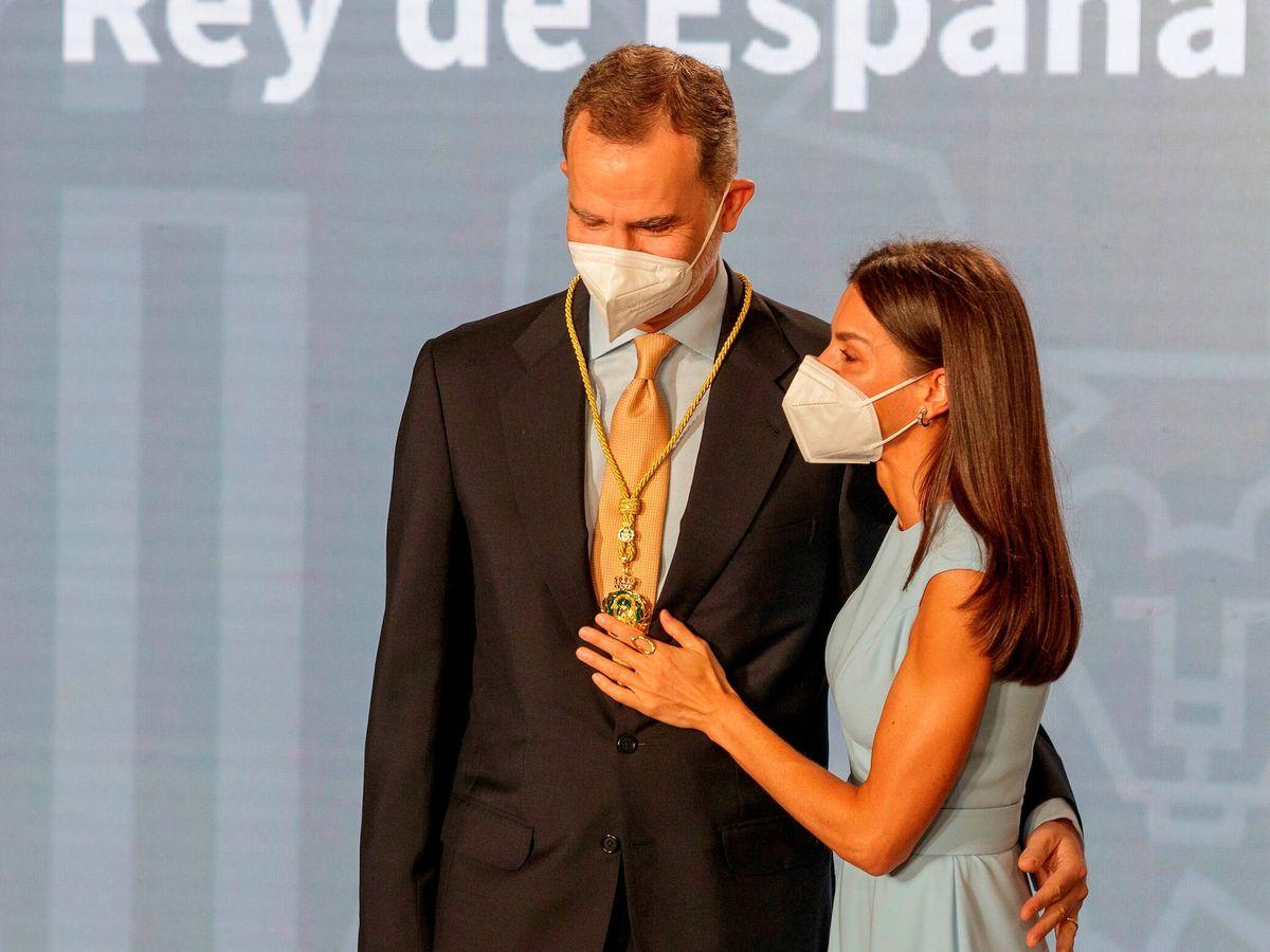 Foto: Los reyes Felipe y Letizia, durante la entrega de la Medalla de Honor de Andalucía. (Limited Pictures)