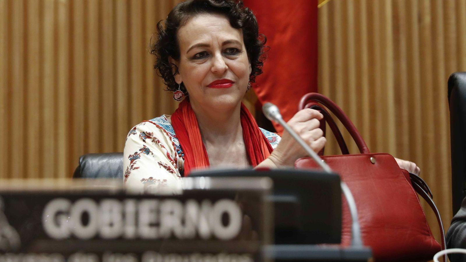Foto: Magdalena Valerio, ministra de Trabajo. (EFE)