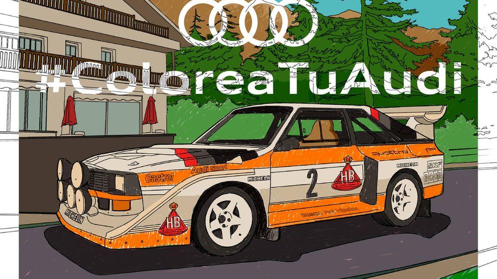 Foto: Campaña de Audi para divertir a los más pequeños en estos días complicados.