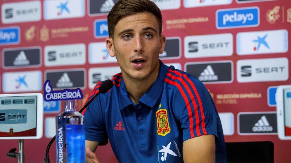 Foto: Pau Torres en el día de su primera convocatoria con la Selección española de fútbol. (Efe)