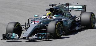 Post de Hamilton estrena su cuarto título con el mejor tiempo en los libres en Brasil