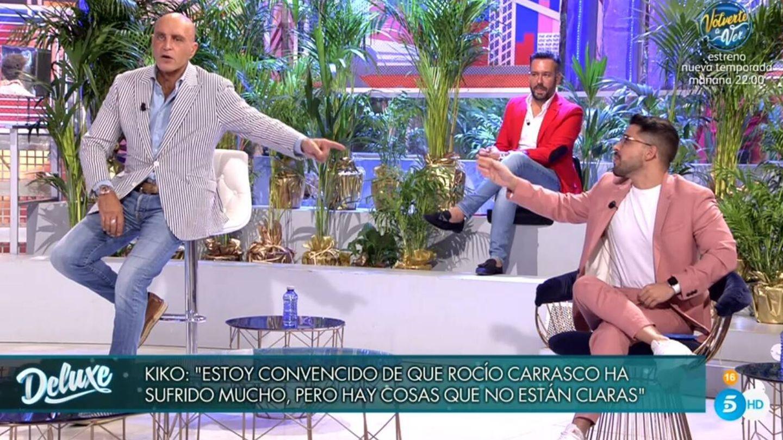 Kiko Matamoros y Miguel Frigenti. (Telecinco).