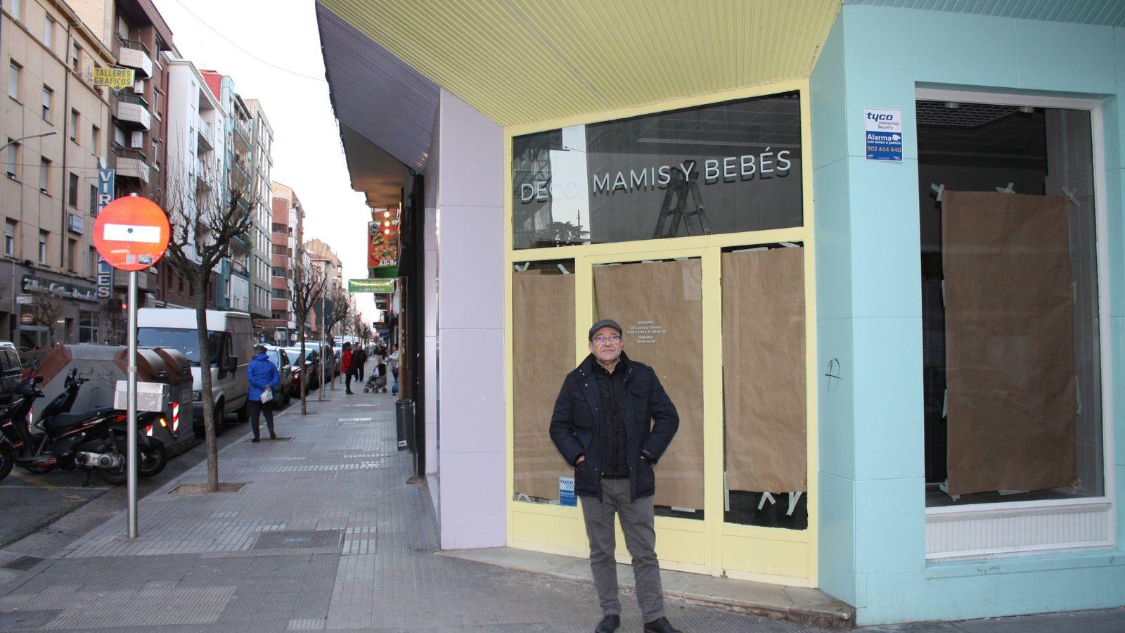 Foto: Los cierres de tiendas, habituales en España R. M.