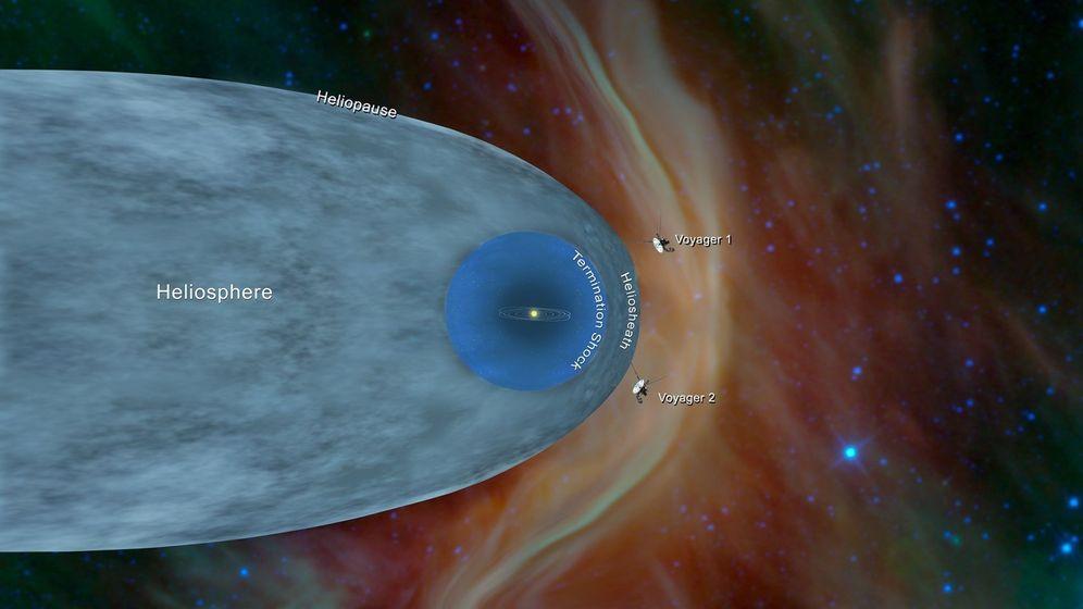 Foto: La sonda Voyager 2 de la NASA se adentra en el espacio interestelar