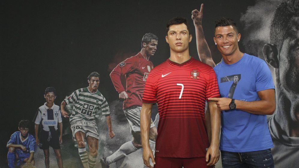 Foto: Cristiano Ronaldo, durante su visita al 'CR7 Museum' de Funchal (Reuters)