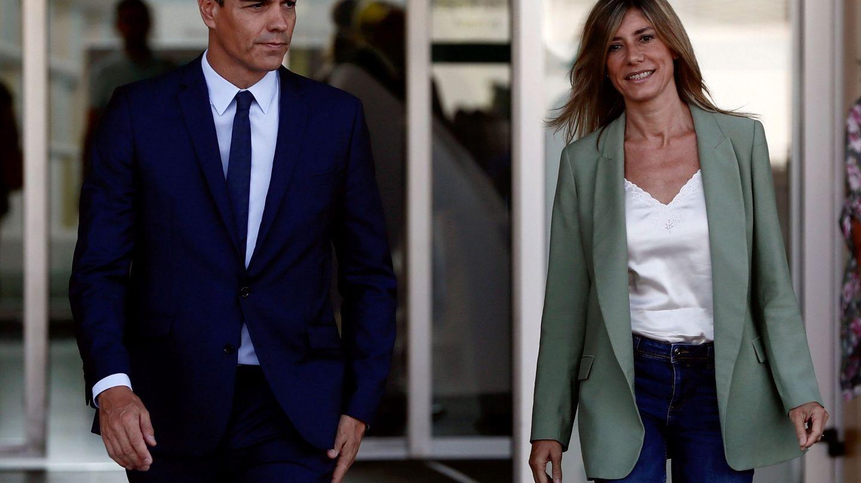 Pedro Sánchez, y su esposa, Begoña Gómez en una imagen de archivo. (EFE)