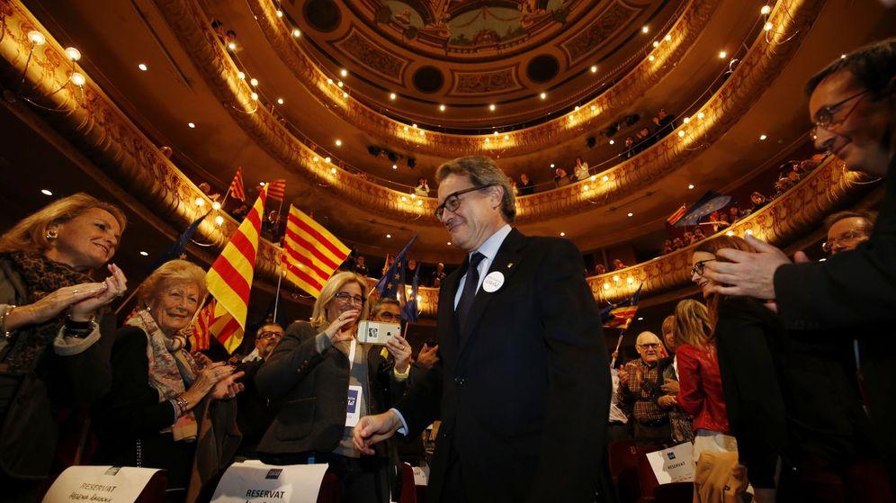Foto: Artur Mas en un acto electoral del 17 de diciembre. (EFE)