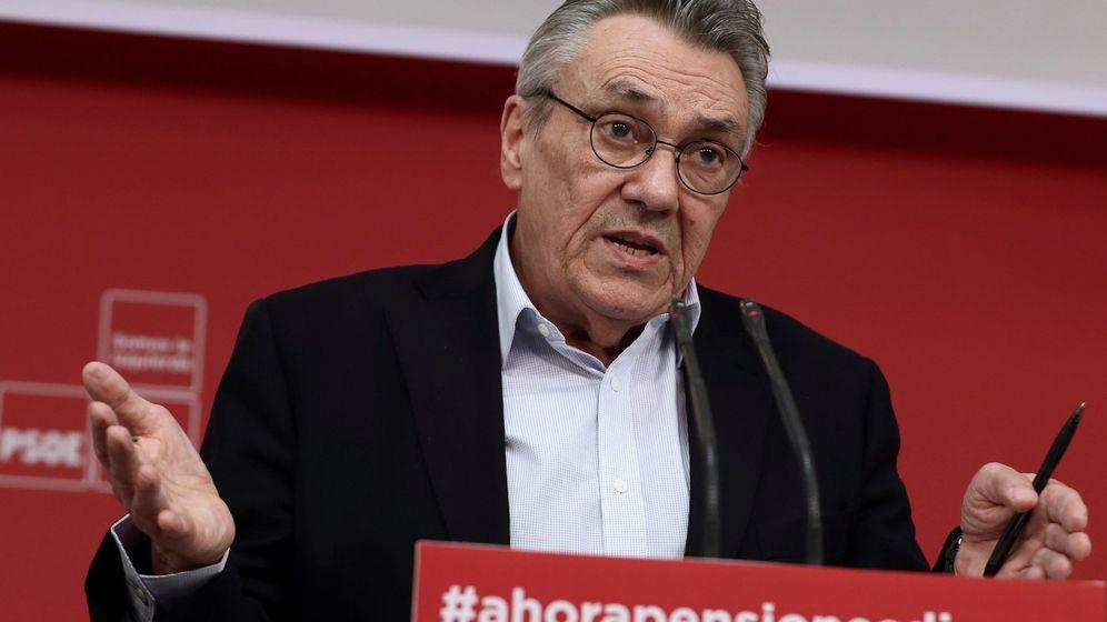 Foto: El secretario de Política Económica y Empleo del PSOE, Manuel Escudero. (EFE)