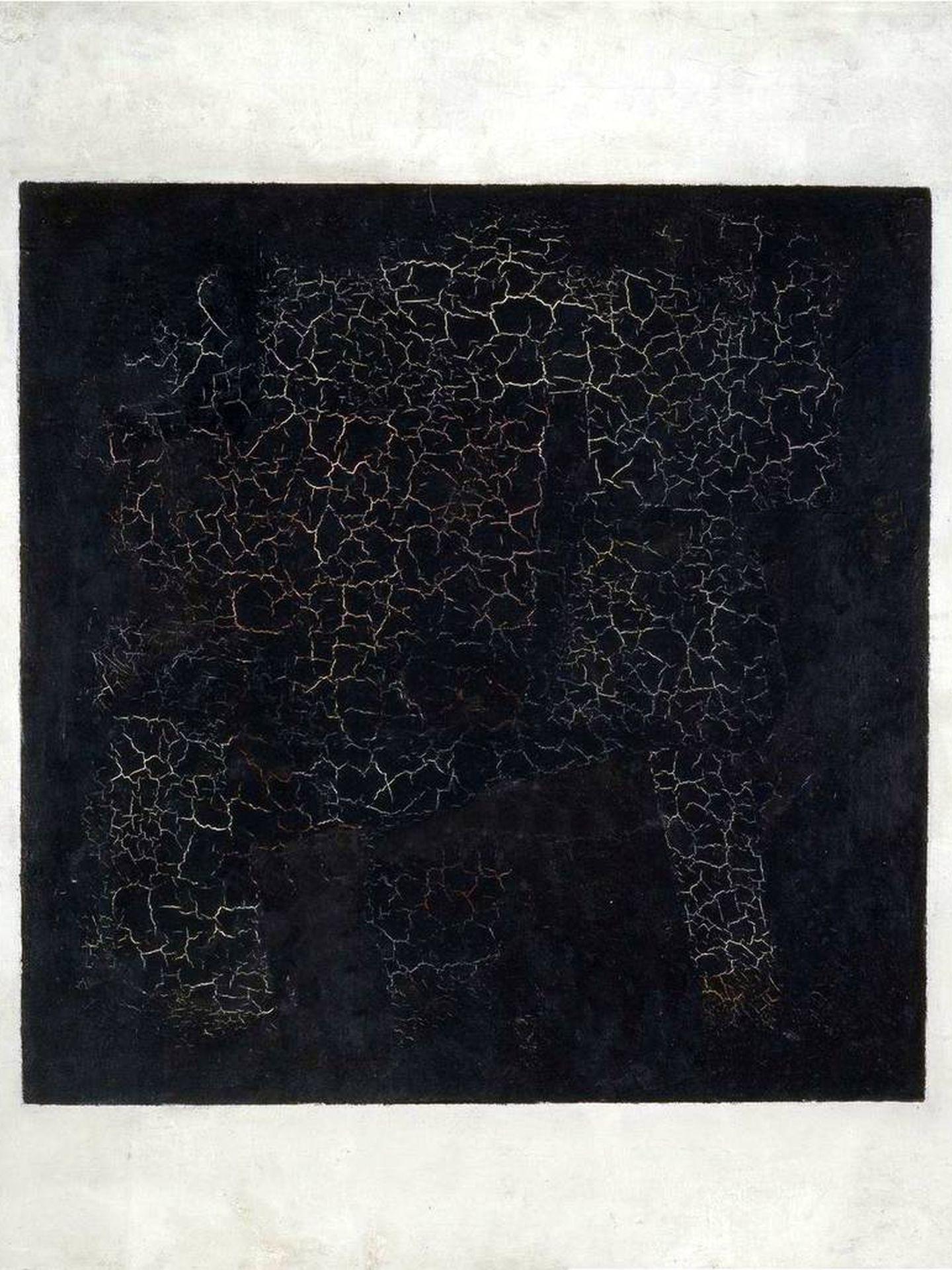 'Cuadrado negro', Kazimir Malévich, 1915. Galería Tretiakov.
