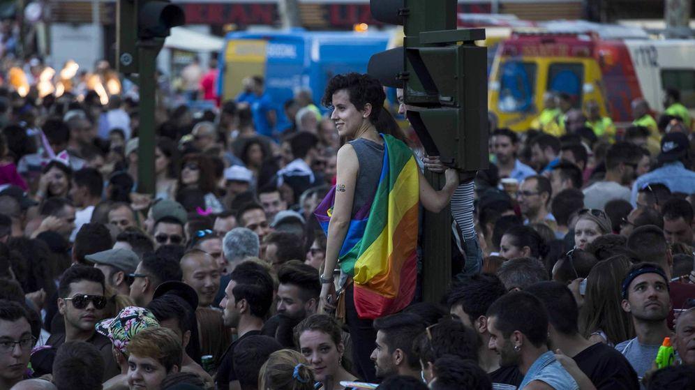 Foto: Imagen de archivo del Orgullo Gay de 2017 en Madrid. (EFE)