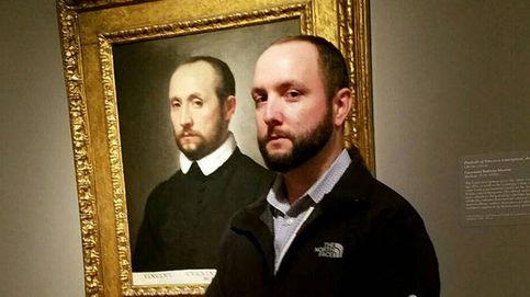Cuando vas a un museo y te encuentras a tu doble en un cuadro