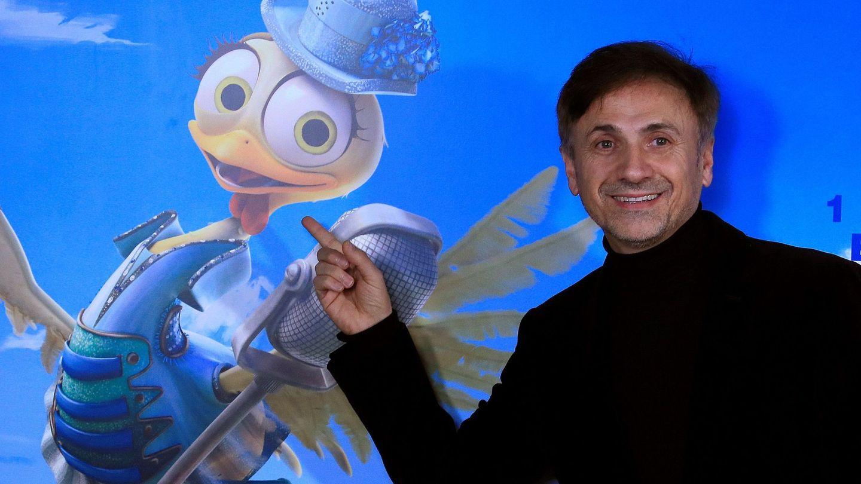 José Mota, en la presentación de 'La gallina Turuleca' en Madrid. (EFE)