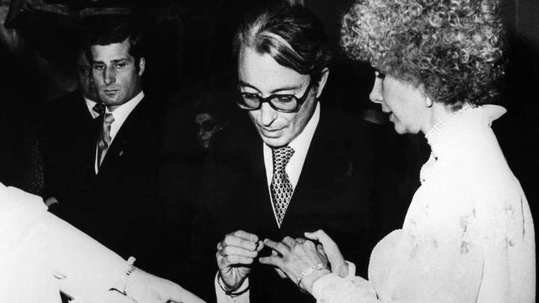 Jesús Aguirre y la duquesa de Alba. (EFE)