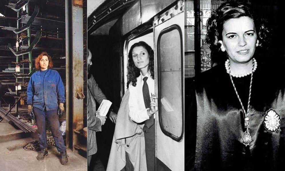 Foto: Conchi, Estrella y María, tres mujeres que abrieron camino al mundo laboral