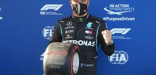 Post de Fórmula 1: brutal pole de Bottas con Verstappen más cerca que nunca y Sainz 10º